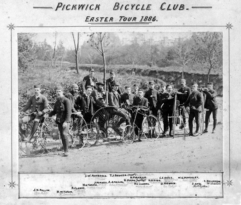 Easter Tour 1886
